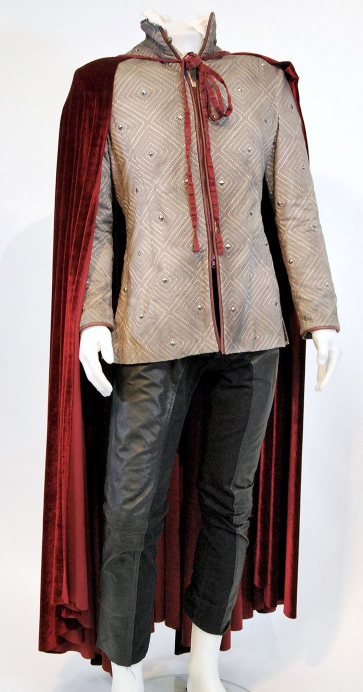 prince Charming red cape and studded jacket ensemble from Once Upon a Time Season 5 Episode 6 i31952919 1