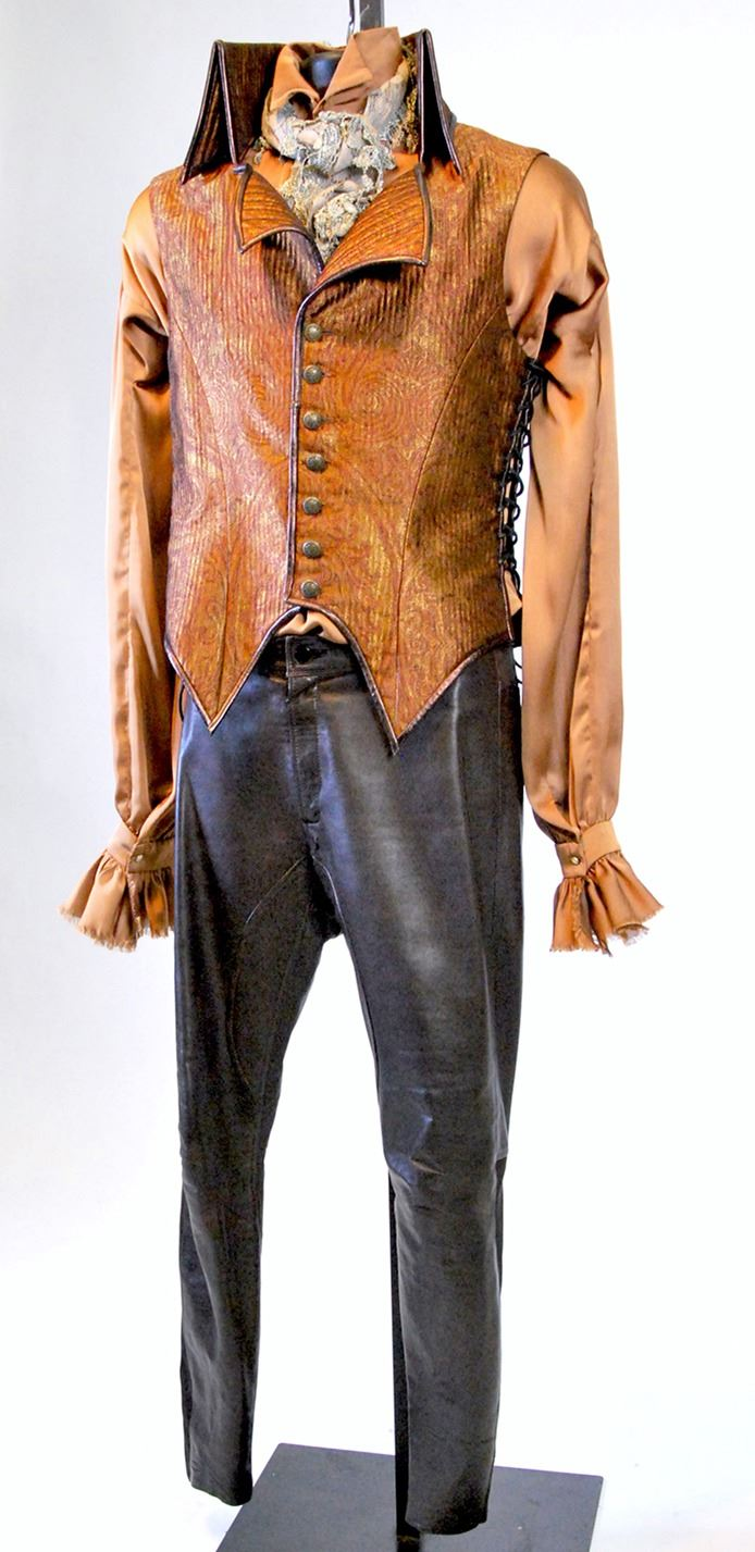 rumplestiltskin signature character costume from Once Upon a Time Season 1. 1