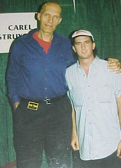 Jason With Carel Struycken (Lurch - The Addams Family)
